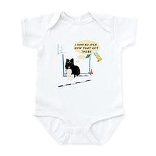 Bar Down Infant Bodysuit