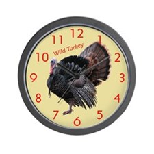 Tom Turkey Wall Clock