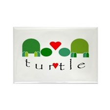 Turtle Power Rectangle Magnet
