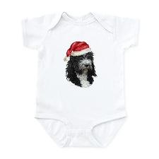 Barbet Christmas Infant Bodysuit