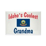 Coolest Idaho Grandma Rectangle Magnet
