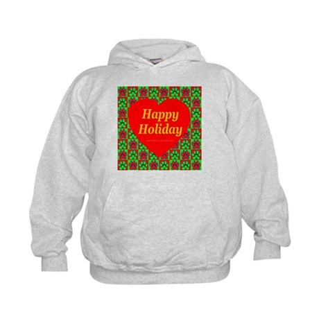 Happy Holiday Kids Hoodie