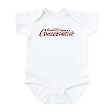 Reagan Conservative Infant Bodysuit