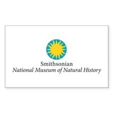 Museum of Natural History Rectangle Sticker