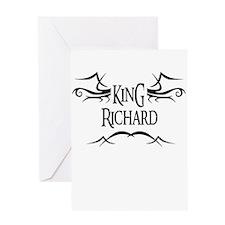 King Richard Greeting Card