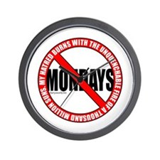 No Mondays2 Wall Clock