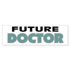 Future Doctor Bumper Car Sticker