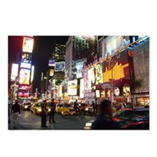 NYC Times Square Postcards Pack of 8