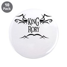 King Rory 3.5 Button (10 pack)