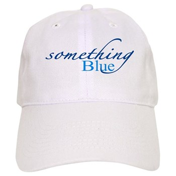 something blue baseball cap