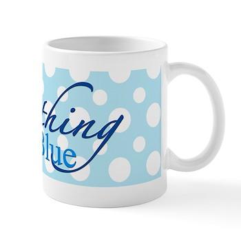 something blue mug