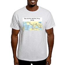 HK MTR MAP new T-Shirt