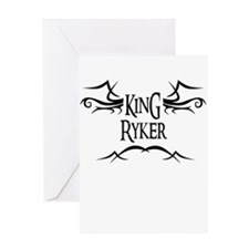 King Ryker Greeting Card