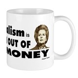 Thatcher Socialism Quote Coffee Mug