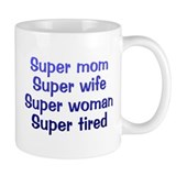 Super Mom Small Mug