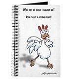 Don't give a flying cluck journal