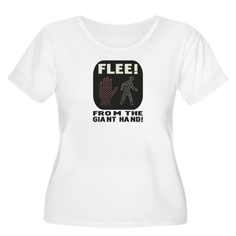 FLEE! Women's Plus Size Scoop Neck T-Shirt