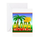Hawaiian Greeting Card