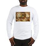 Raphael School of Athens Long Sleeve T-Shirt