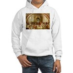 Raphael School of Athens Hooded Sweatshirt
