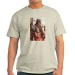 Music and Plato Ash Grey T-Shirt