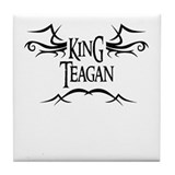 King Teagan Tile Coaster