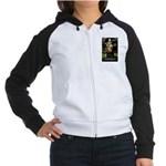 Confucius Women's Raglan Hoodie