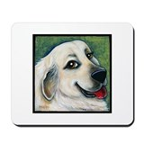 "Great Pyreness ""Emily"" Mousepad"