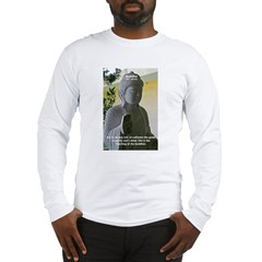 Eastern Philosophy: Buddha Long Sleeve T-Shirt