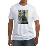 Eastern Philosophy: Buddha Fitted T-Shirt