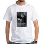 Truth Existentialist Kierkegaard White T-Shirt