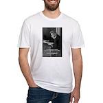 Truth Existentialist Kierkegaard Fitted T-Shirt