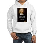 Thomas Hobbes Truth Hooded Sweatshirt