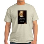 Thomas Hobbes Truth Ash Grey T-Shirt