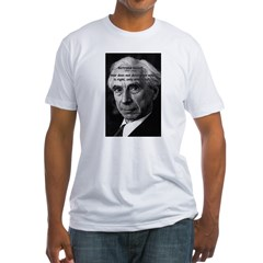 Bertrand Russell Fitted T-Shirt
