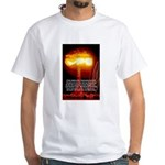 Atomic Bomb: Oppenheimer White T-Shirt