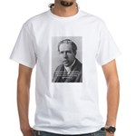 Quantum Physics: Niels Bohr White T-Shirt