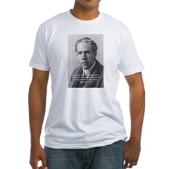 Quantum Physics: Niels Bohr Fitted T-Shirt