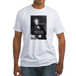 Michael Faraday Fitted T-Shirt