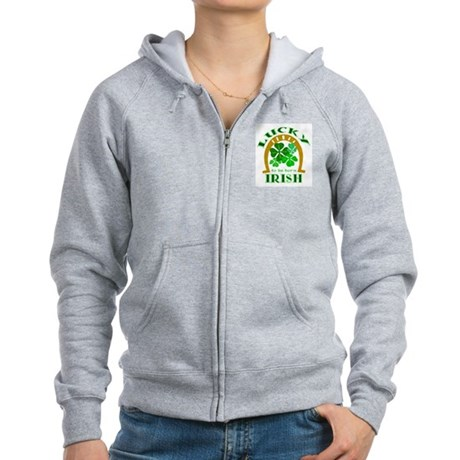 Lucky Irish Women's Zip Hoodie