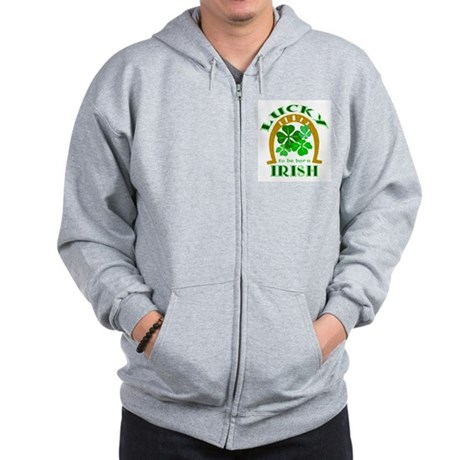 Lucky Irish Zip Hoodie