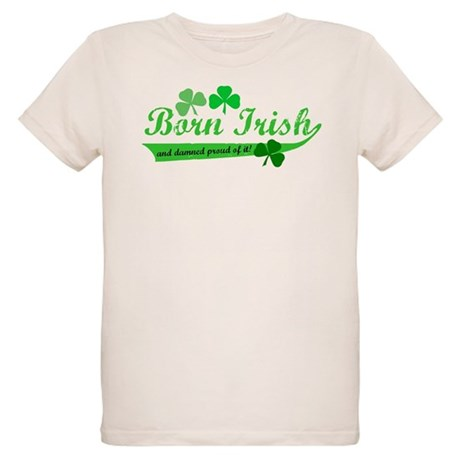 Born Irish Organic Kids T-Shirt