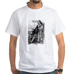 Mathematics: Blaise Pascal White T-Shirt