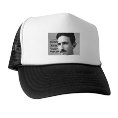Alternating Current: Tesla Trucker Hat