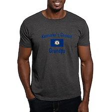 Coolest Kentucky Grandpa T-Shirt