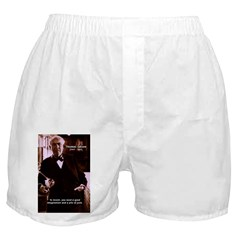 Imagination Thomas Edison Boxer Shorts