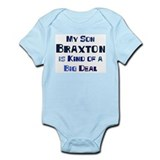 My Son Braxton Infant Bodysuit