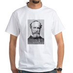 Positive Thinking William James White T-Shirt