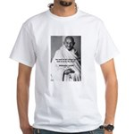 Loyalty to Cause: Gandhi White T-Shirt