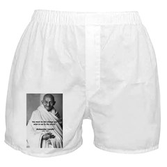 Loyalty to Cause: Gandhi Boxer Shorts